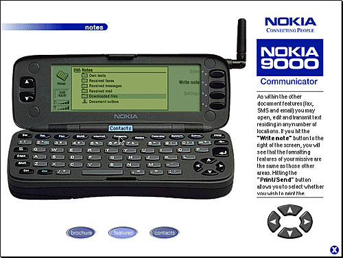 The Gadget We Miss: The Nokia 9000 Communicator – People & Gadgets ...